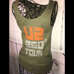 Tops - U2 360 tour tank top large